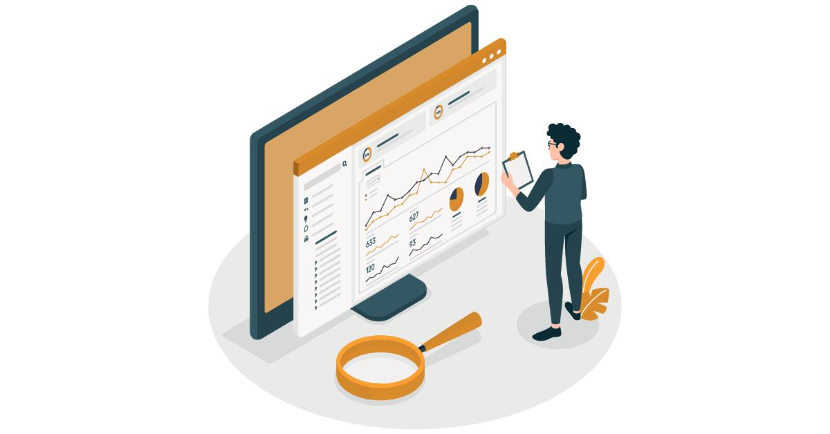 Data visualization concept