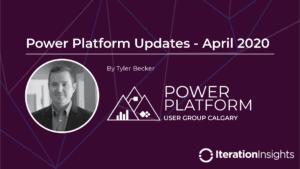 Power Platform Updates Title Card