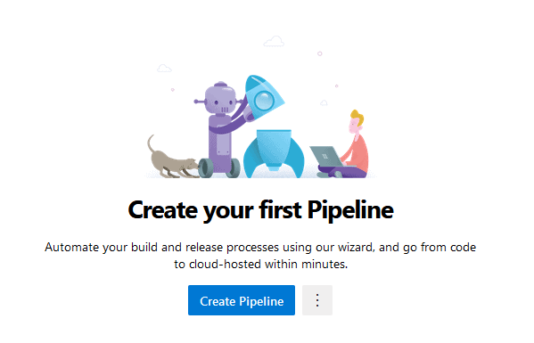 create your first pipeline for CI/CD
