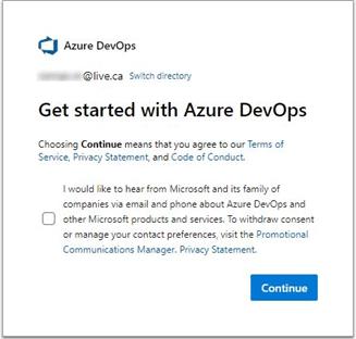 get started with azure devops