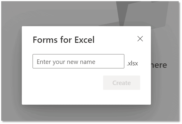 Enter a name for the Excel file.